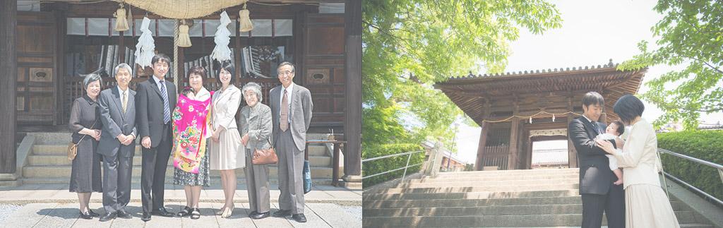 岡山倉敷のお宮参り百日撮影ならNovell